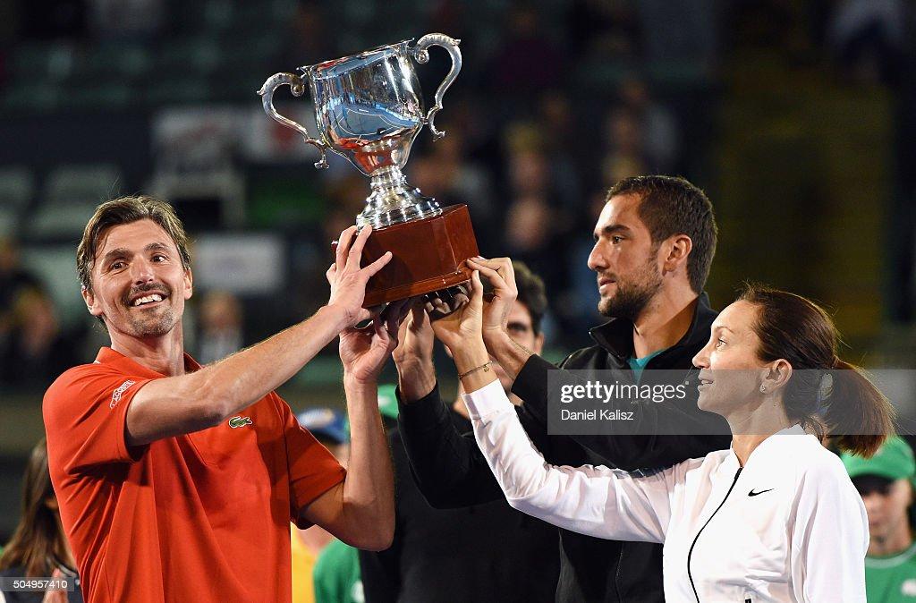 2016 World Tennis Challenge : News Photo