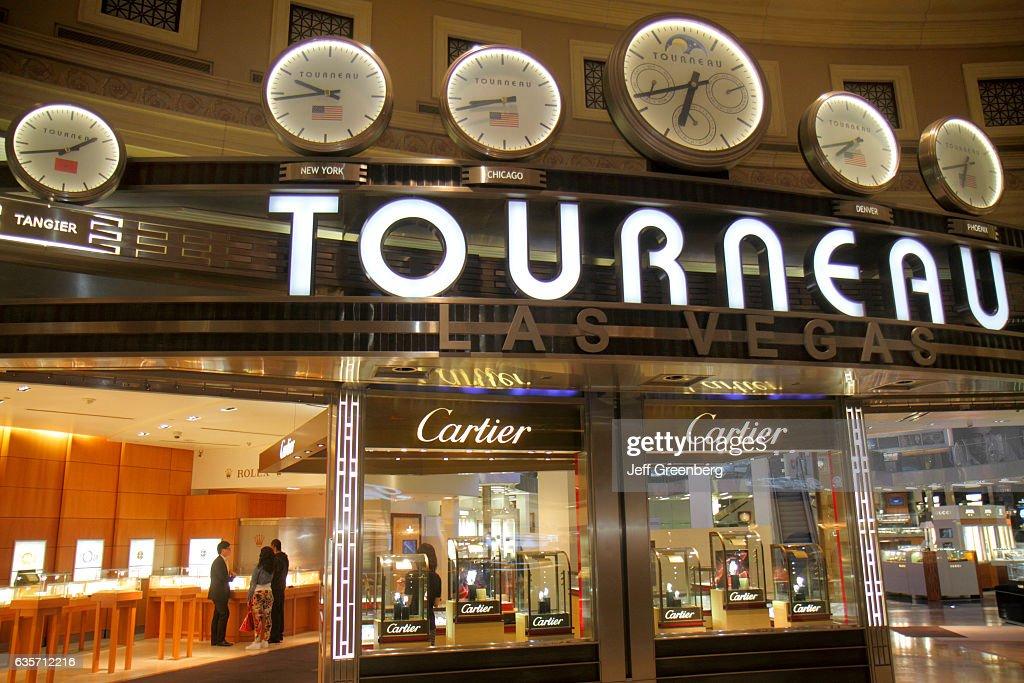Tourneau entrance, Forum Shops at Caesars Palace  News Photo