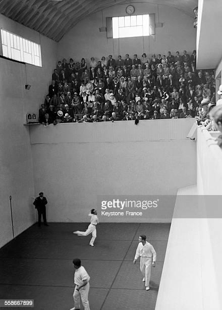 Tournoi de pelote basque à Paris France en 1931