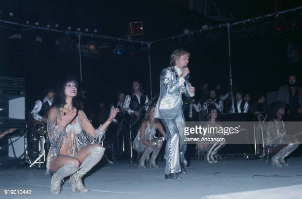 Tours French singer Claude François performing on stage 3d February 1978
