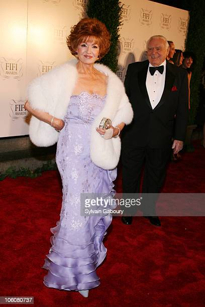 Tova Borgnine and Ernest Borgnine during 2006 Fifi Awards at The Hammerstein Ballroom in New York NY United States
