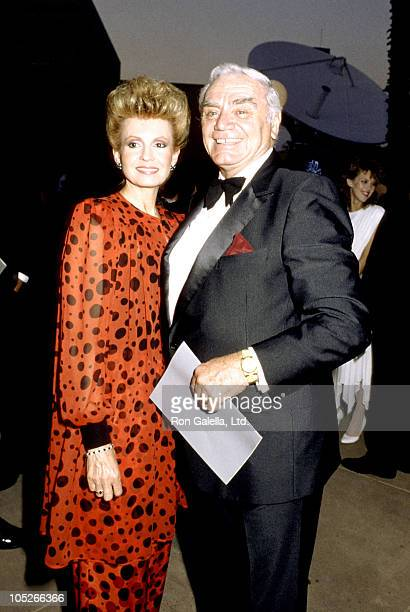 Tova Borgnine and Ernest Borgnine during 2nd Annual Stuntman Awards March 22 2003 at KTLA Studios in Los Angeles California United States