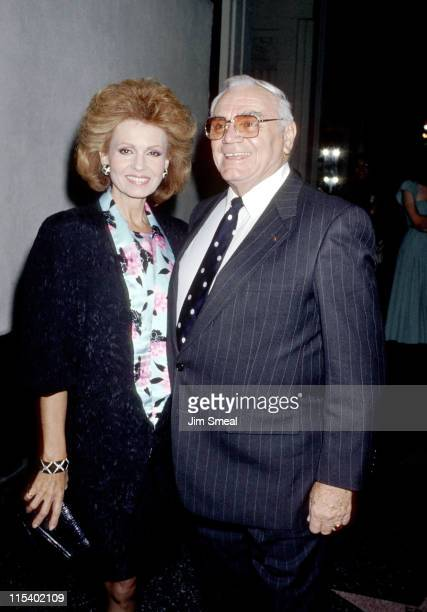 Tova Borgnine and Ernest Borgnine during The Unsinkable Molly Brown New York Premiere at Pantages Theater in New York City New York United States