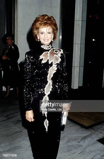 Tova Borgnine during 33rd Annual Thalians Ball at Century Plaza Hotel in Los Angeles California United States