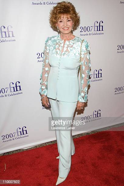 Tova Borgnine during The 35th Annual FIFI Awards May 31 2007 at The Winter Garden in New York City New York United States
