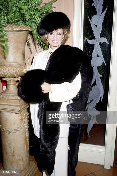 Tova Borgnine during Windmill Of The Gods Sidney Sheldon's Book at Bistro's Gardens in Beverly Hills California United States