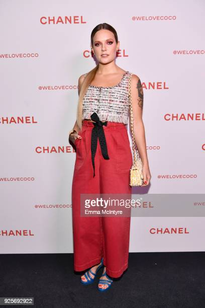 Tove Lo attends a Chanel Party to celebrate the Chanel Beauty House and @WELOVECOCO at Chanel Beauty House on February 28 2018 in Los Angeles...