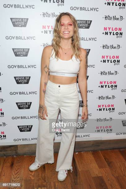 Tove Lo attends NYLON NYLON Guys Celebrate the Music Issue at House of Vans Brooklyn on June 2 2017 in New York City