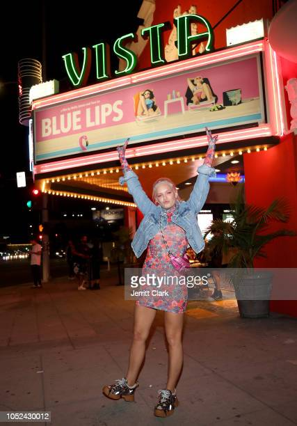 Tove Lo attends the premiere of Tove Lo's Blue Lips at the Vista Theatre on October 17 2018 in Los Angeles California