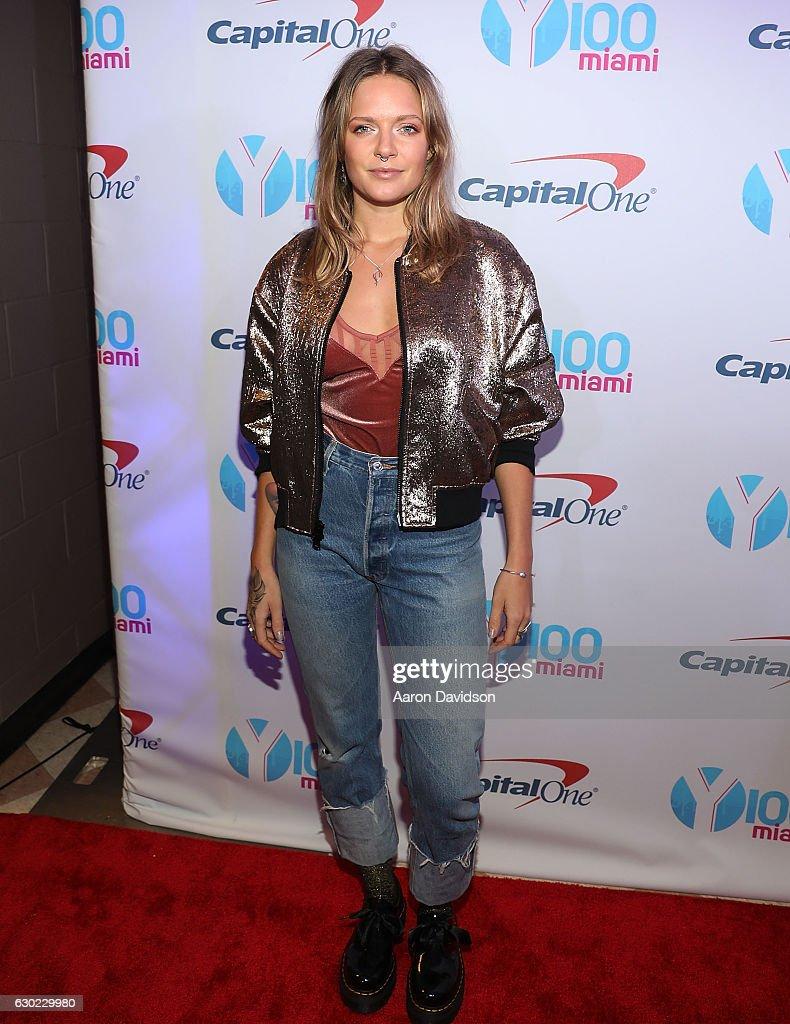 Y100's iHeartRadio Jingle Ball 2016 - Arrivals : News Photo