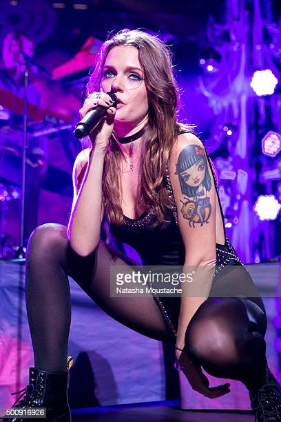 Tove Lo performs at KISS 108FM's Jingle Ball 2015 Presented by Capital One at TD Banknorth Garden on December 10 2015 in Boston Massachusetts