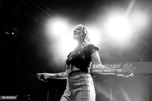 Tove Lo performs at the O2 Shepherds Bush Empire on March 17 2017 in London United Kingdom