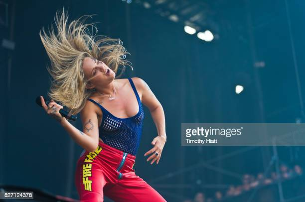 Tove Lo performs on Day Four of Lollapalooza at Grant Park on August 6 2017 in Chicago Illinois