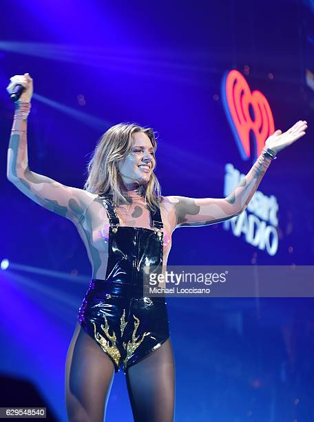Tove Lo performs onstage at Hot 995's Jingle Ball 2016 at Verizon Center on December 12 2016 in Washington DC