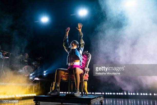 Tove Lo performs onstage at Riviera Theatre on February 19 2020 in Chicago Illinois