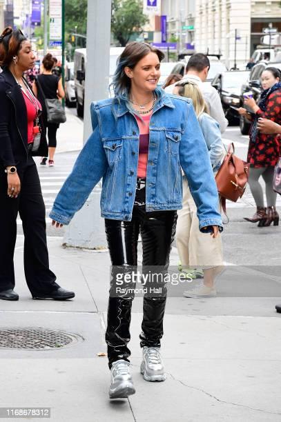 Tove Lo seen outside build studio on September 16, 2019 in New York City.