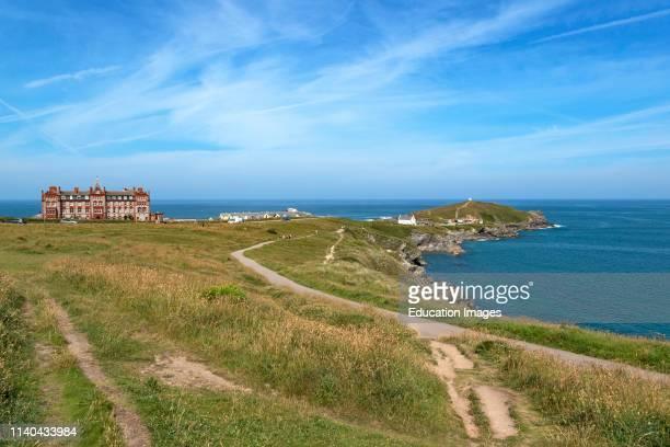 towan head newquay Cornwall England Britain uk