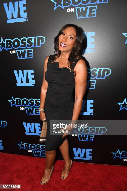 "Towanda Braxton at ""Bossip On WE"" Atlanta Launch Celebration at Elevate at W Atlanta Midtown on June 27, 2017 in Atlanta, Georgia."
