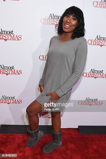 "Towanda Braxton attends ""Almost Christmas"" Atlanta screening at Regal Cinemas Atlantic Station Stadium 16 on October 26, 2016 in Atlanta, Georgia."