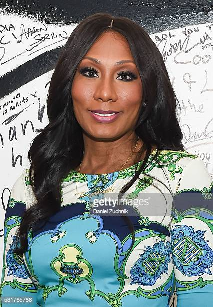 Towanda Braxton attends AOL Build to discuss the show 'Braxton Family Values' on May 16 2016 in New York New York
