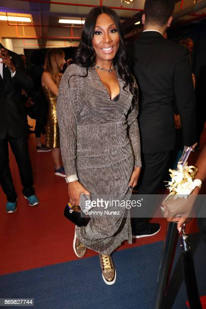 Towanda Braxton attends the 2017 USATF Black Tie & Sneakers Gala at The Armory Foundation on November 2, 2017 in New York City.