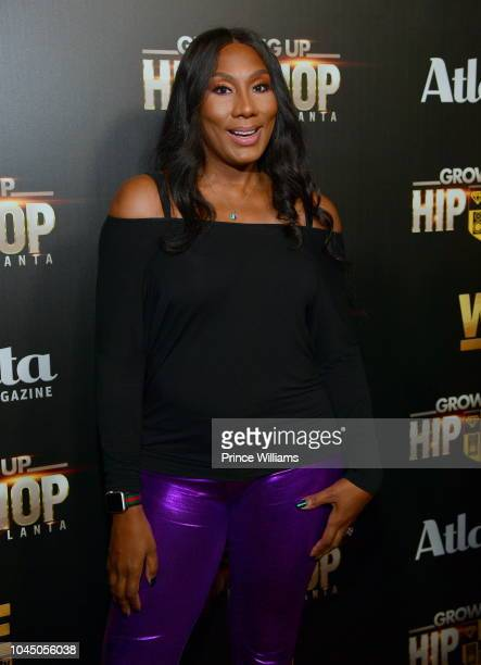 Towanda Braxton attends the return of growing up Hip Hop at Tongue & Groove on October 2, 2018 in Atlanta, Georgia.
