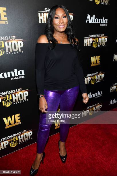 "Towanda Braxton attends WE tv Celebrates The Return Of ""Growing Up Hip Hop Atlanta"" at Club Tongue & Groove on October 2, 2018 in Atlanta, Georgia."