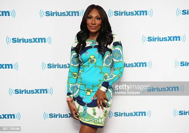 Towanda Braxton visits SiriusXM Studio on May 16, 2016 in New York City.