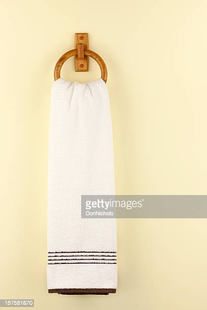 towel ring - hanging stock pictures, royalty-free photos & images