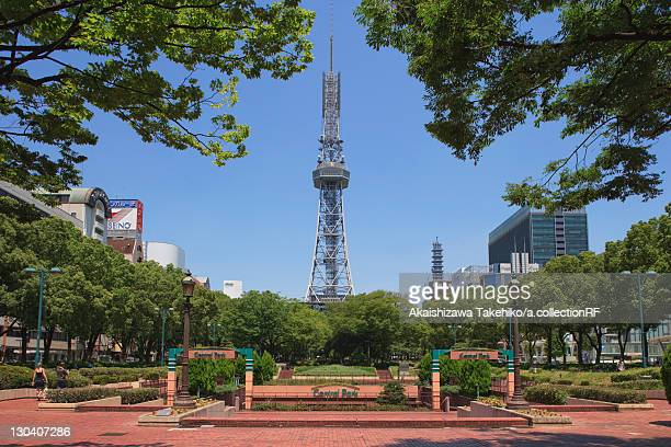 TV tower and park, Nagoya City, Aichi Prefecture, Japan