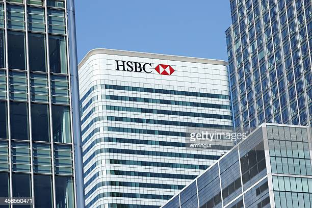 HSBC Tower at Canary Wharf in London Docklands