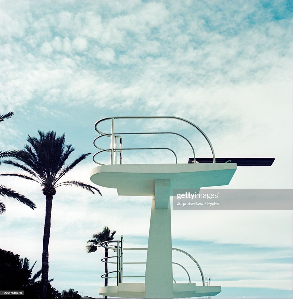 Tower At Pool Side : Foto stock