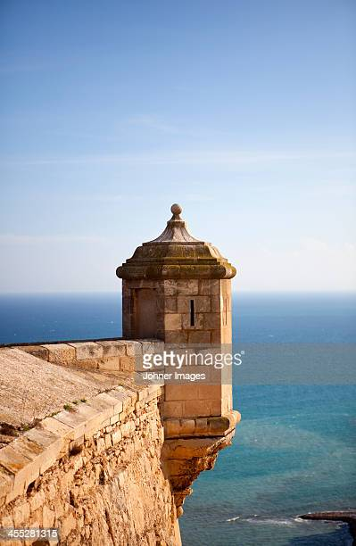 Tower at surrounding walls, Spain