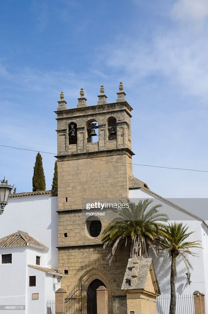 Tower Bell in Ronda : Stock Photo