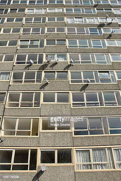 Tower block of Heygate Estate, South London