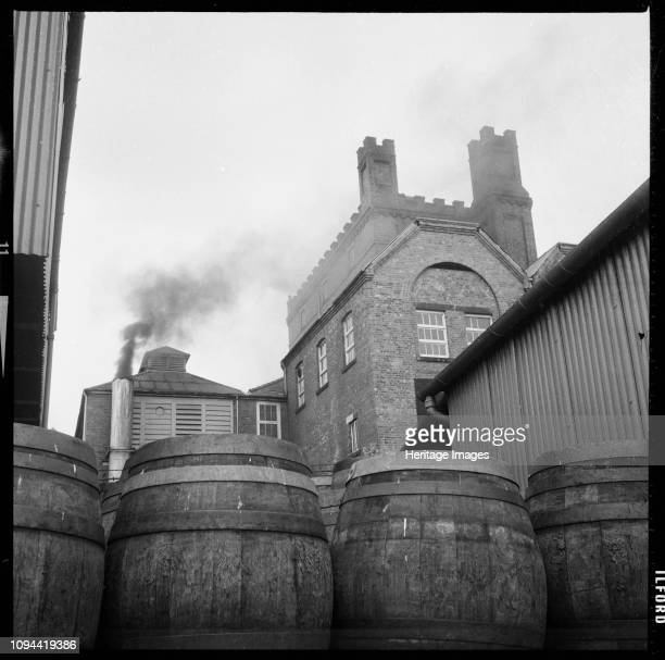 Tower Brewery Wetherby Road Tadcaster North Yorkshire 19661974 The Tower Brewery premises of the Tadcaster Brewery Company on Wetherby Road viewed...
