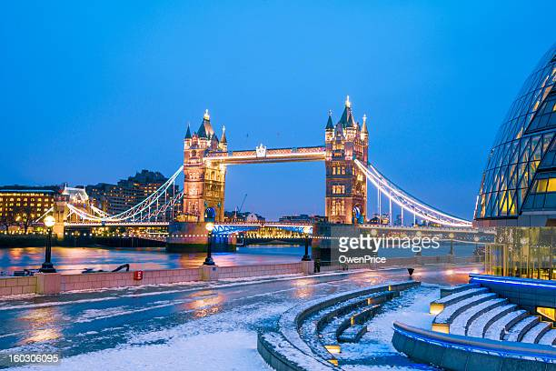 Tower Bridge and City Hall London