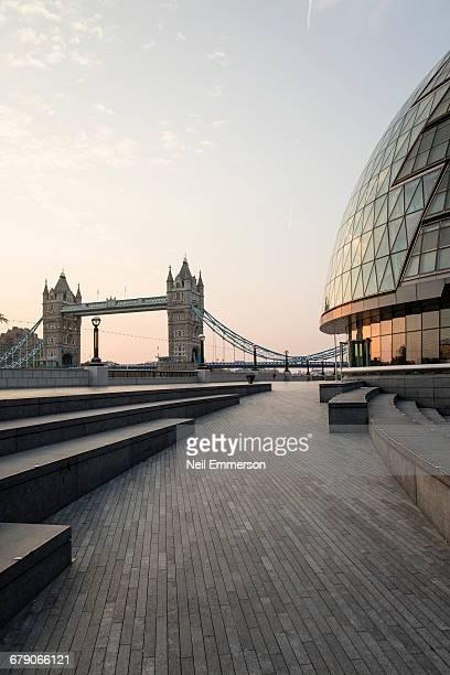 Tower Bridge and City Hall