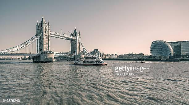 Tower Bridge and London City Hall