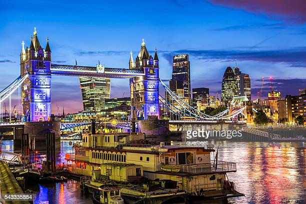 Tower Bridge and London City