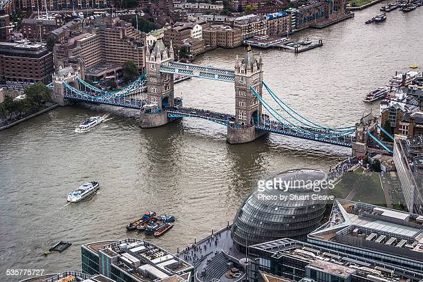 Tower Bridge from the air
