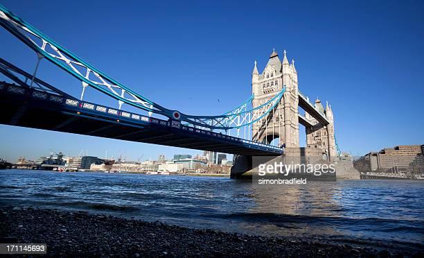 Tower Bridge In Blue