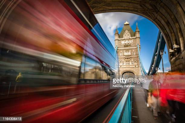tower bridge in city of london, england - toned image - brexit stock pictures, royalty-free photos & images