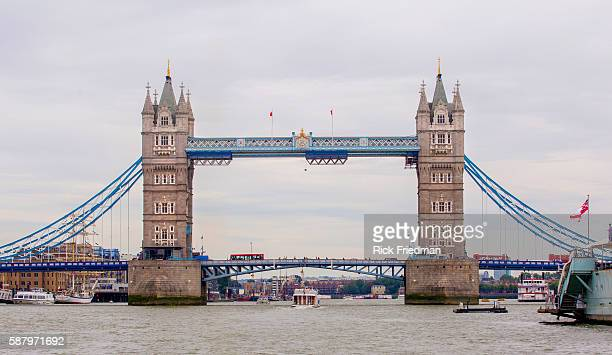 Tower Bridge in London, England on September 5, 2010.