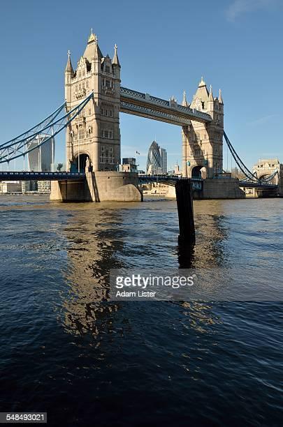 Tower Bridge in the sun