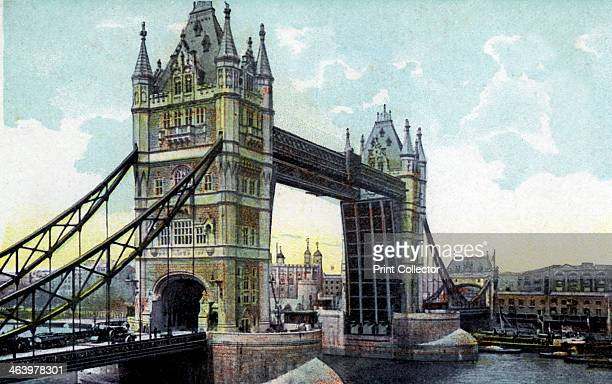 Tower Bridge London 20th Century The construction of the bridge was begun in 1881 to designs by Sir Horace Jones and it opened in 1894 It was...