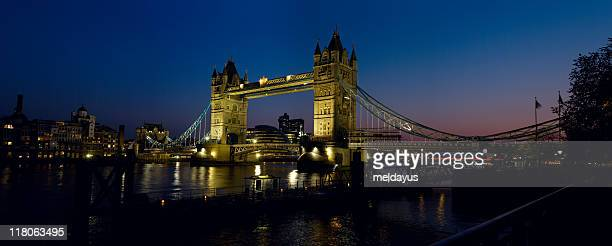 Tower Bridge, London, at Dusk