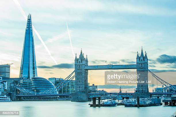 Tower Bridge on the River Thames