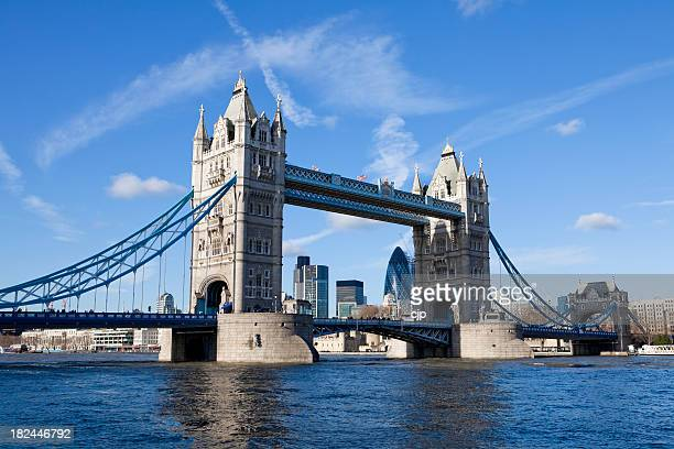 Tower Bridge over River Thames, London UK XXXL