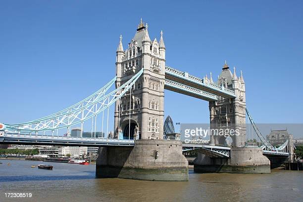 Tower Bridge over the River Thames London